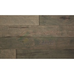 HEMISPHERE HARDWOOD, CHILLED STEEL, COVELO CANYON COLL., CCP1K0402, 6 INCH WIDE KUPAY HAND SCRAPED, HARDWOOD FLOORING