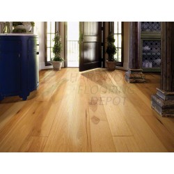 SHAW FLOORS   CASTLEWOOD COAST OF ARMS HICKORY 00993   7.5 INCHES WIDE   WIRE BRUSH DURASHIELD HARDWOOD FLOORING