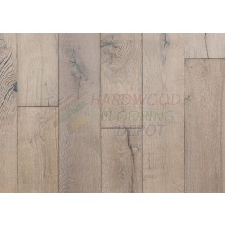 DUCHATEAU, LIMESTONE, VINTAGE REMAINS COLLECTION, VTRLS7-1, EUROPEAN WHITE OAK, 7.5 INCH WIDE, AGED CHARACTER, DUCHATEAU FLOORS