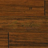 TECSUN BAMBOO FLOORING | STRAND WOVEN ANTIQUE B0504F | 9/16 INCH X 5 3/8 INCH X 72 INCH | DISTRESSED STRAND WOVEN BAMBOO TONGUE AND GROOVE SERIES