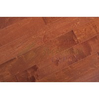 URBAN, BIRCH PAPRIKA, WELCOME HOME COLLECTION, B103-BPK, 5 INCH WIDE HANDSCRAPED, HARDWOOD FLOORING