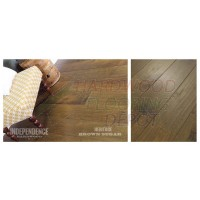 INDEPENDENCE, BROWN SUGAR, HERITAGE COLLECTION, IHFHER8CRU, 7.5 INCH WIDE ENGINEERED MAPLE, HARDWOOD FLOORING