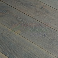 OASIS RANCHO VILLA, OLD CARMEL COLLECTION, OC15, 8 3/4 INCH WIRE BRUSHED RUSTIC WHITE OAK, HARDWOOD FLOORING
