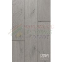 "SILVER OAK COLLECTION, PEARL GREY DMSO-02, 7.5"" WIDE, LONG PLANK, KLUMPP OIL FINISHED HARDWOOD FLOORING"