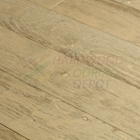 OASIS SURFING WAVES, SEASIDE COLLECTION, SS02, 7.5 INCH WIDE WIRE BRUSHED BIRCH, HARDWOOD FLOORING