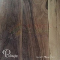 PALACIO REGALO, MANTIAS WALNUT, MISSION COLLECTION, REGWAL75MAN, 7.5 INCH WIDE, HICKORY, HARDWOOD FLOORING
