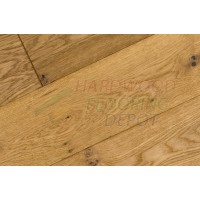 URBAN CHENE, CHARDONNAY, UC-637-CHA, EUROPEAN WHITE OAK, 7.5 INCH WIDE, WIRE BRUSHED MATTE LACQUER, HARDWOOD FLOORING